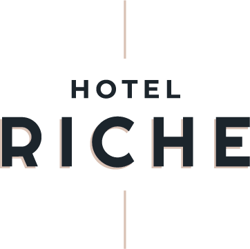 Retina logo van Hotel Riche